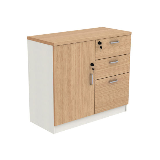 Wooden Decoration Furniture Storage Cabinet Side Coffee Table For Office