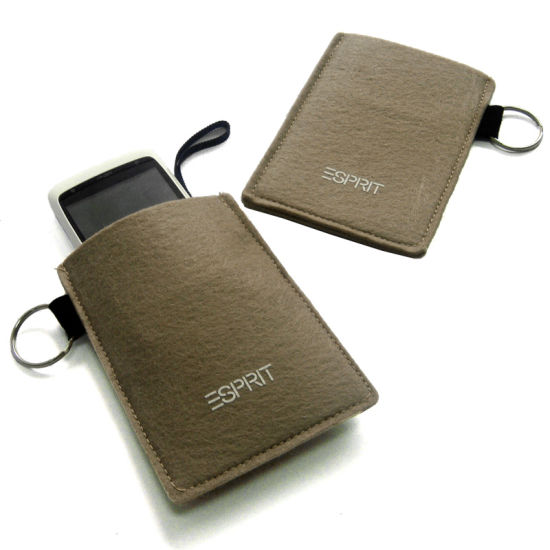 Factory Price Felt Phone Bag Fit for All Kinds Phone pictures & photos