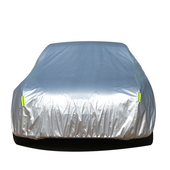 Wholesale Car Accessories Silver Waterproof Sunproof Full Auto Car Cover