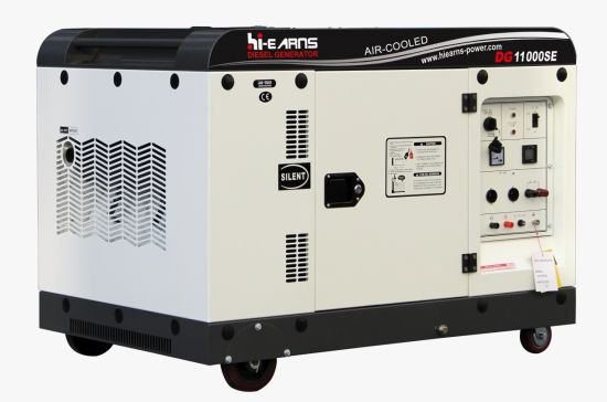 7.5kw Silent Type Air-Cooled Diesel Generator Series Dg11000se pictures & photos