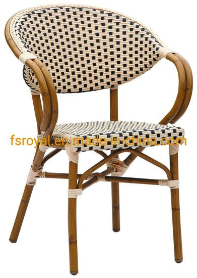China Outdoor Restaurant Furniture, French Cafe Outdoor Furniture