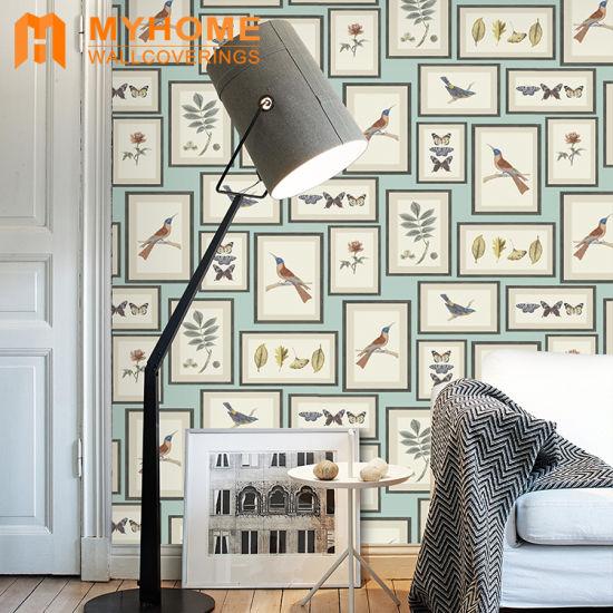 China Home Decoration Modern Pvc Vinyl Waterproof 3d Wallpaper