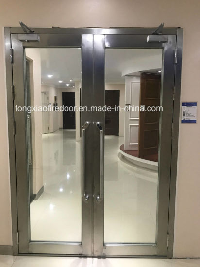 China Glass Panel Fire Door China Fire Rated Glass Doors Fire