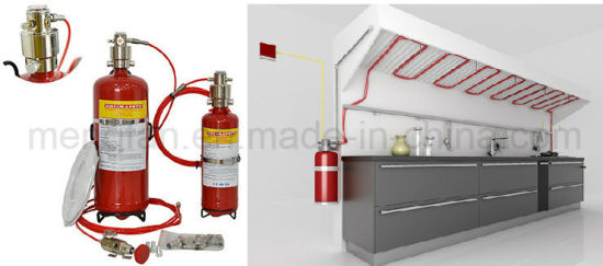 Wet Chemical Fire Suppression Systems For Kitchen