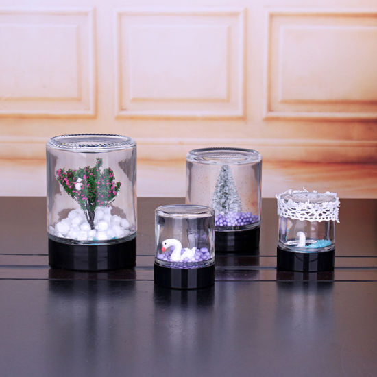 Glass Jars with Plastic Lids DIY pictures & photos