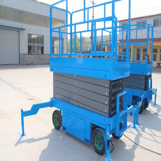 China Shandong Tavol Genie Mobile Electric Scissor Lift - China