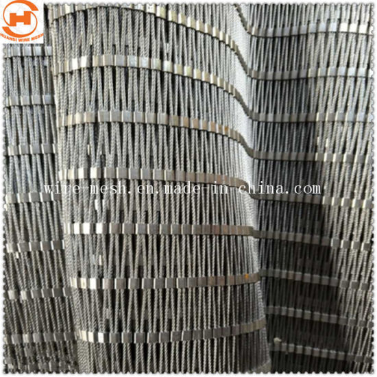 Rust Resistant Black Oxide Stainless Steel Rope Wire Mesh