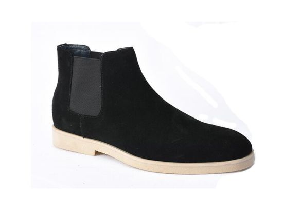 Italy Custom Hand Made Shoes Comfortable Suede Casual Boots For Men