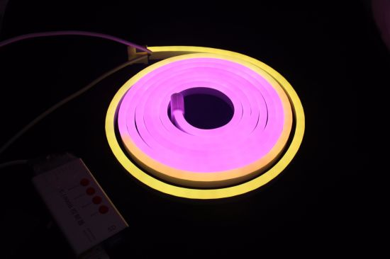 RGB Chasing Neon LED Flex Strip Light by DMX Solution pictures & photos