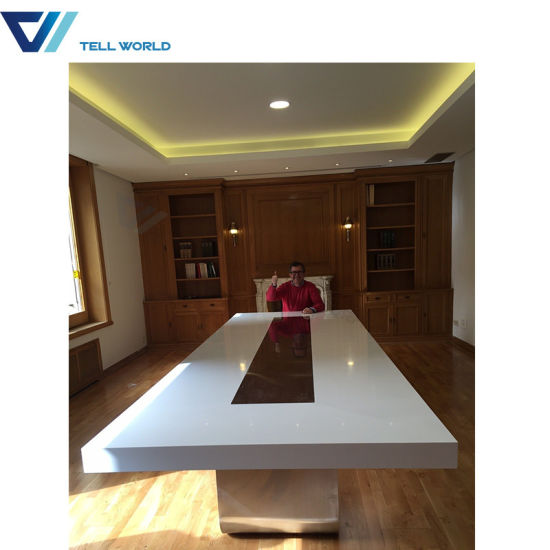 China MultiFunction Curved Modern Smart Conference Table Western - Curved conference table