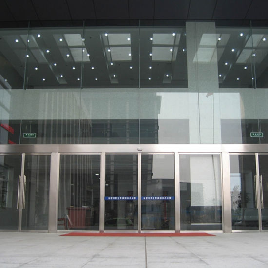 China Automatic Sliding Doors Automatic Glass Sliding Door China