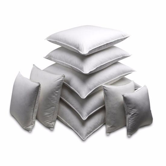 Hotel Use Customized Size and Weight White Goose Duck Down Pillow pictures & photos