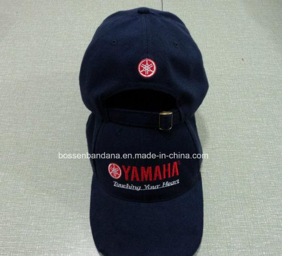 129941e5e86c Factory Produce Custom Logo Embroidered Navy Cotton Twill Baseball Cap Dad  Hat