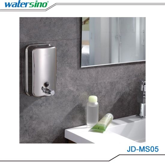 China Hot Sale Wall Mounted Bathroom Soap Liquid Dispenser China