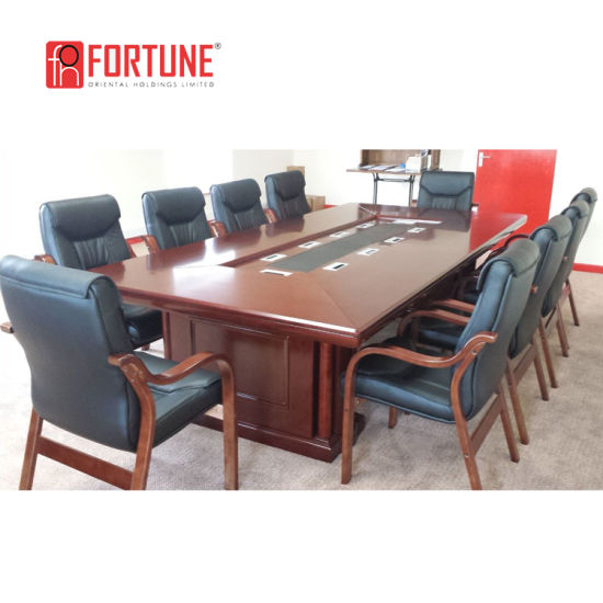 Enjoyable Meeting Table Office Business Conference Table With Cable Management Home Remodeling Inspirations Genioncuboardxyz