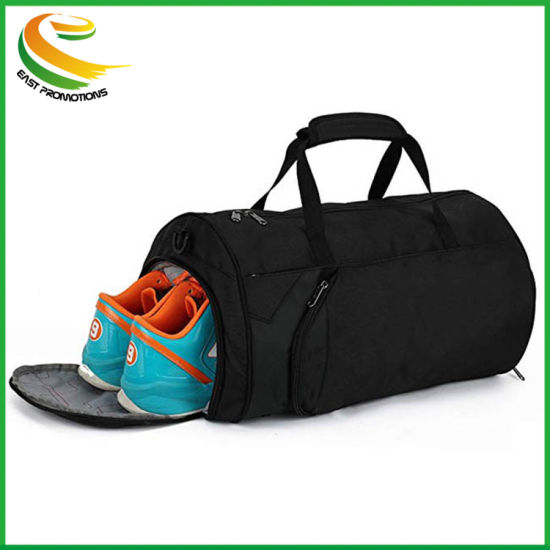 4a99e56f1016 Packable Sports Gym Bag with Wet Pocket & Shoes Compartment Travel Duffel  Bag