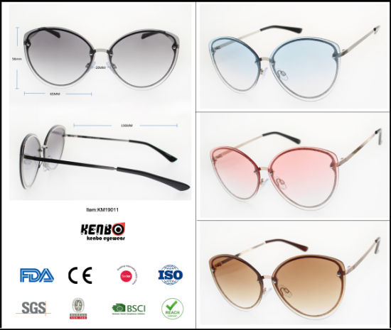 2019 New Fashion Trend Best Selling Rimless Sunglasses for Lady pictures & photos