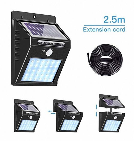 China Solar Led Light Outdoor Indoors, Solar Outdoor Patio Deck Lights 48 Led