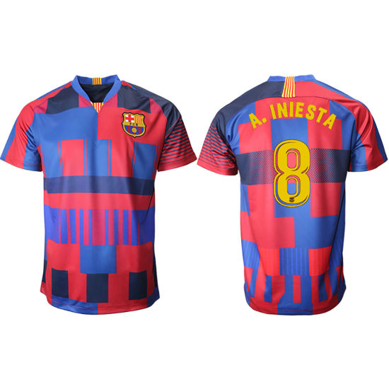 the latest 84171 613fe Wholesale 2019 Thailand Messi Soccer Jersey Barcelona Football Shirt