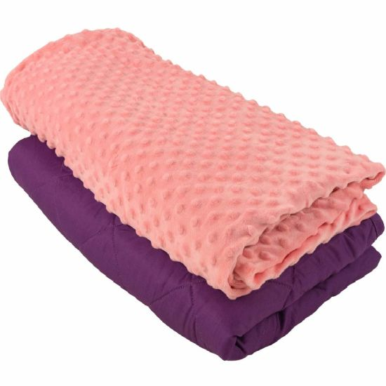 Wholesale 48*72 Inches OEM Sensory Weighted Blanket Adult 15 Lbs
