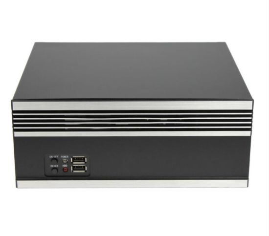 China Compact Mini Itx Case Support 1 3 5 Inch HDD with 80