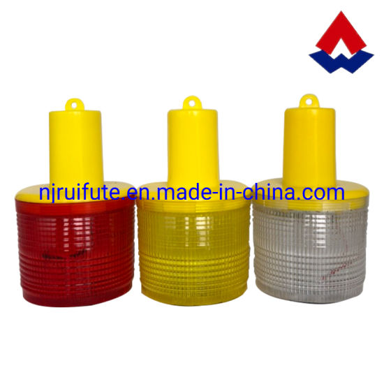 Traffic Cone Emergency Warning Lamp LED Flashing Warning Light