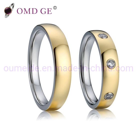Wholesale Fashion Gift Promise Steel Rings pictures & photos