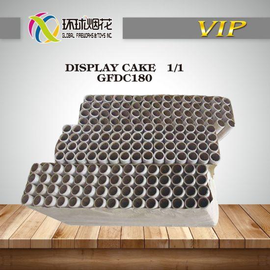 China Wholesale 180 Shots Chemical Formula Display Cakes