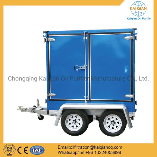 Trailer Transformer Oil Filtration Equipment pictures & photos