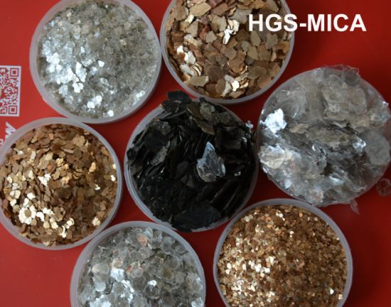 High Quality Black Mica Green Mica Gold Mica Silver Mica Sericite pictures & photos