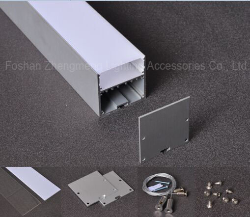 50mmsurface Mounted Aluminum Profile with Flat Cover for LED Strip Lighting Application pictures & photos