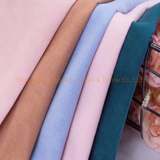 Polyester Textile Microfiber Ultra Multi Suede Fabric for Making Bags/Shoes Lining Material