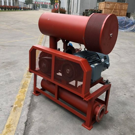 Three Lobes Roots Blower Bk6005 15kw with Army Green Color Look Very Well pictures & photos
