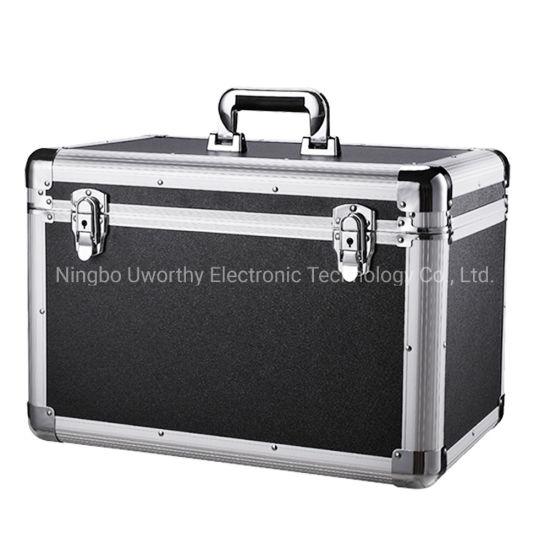 OEM New Design Aluminum CD / Record Storage Carrying Case