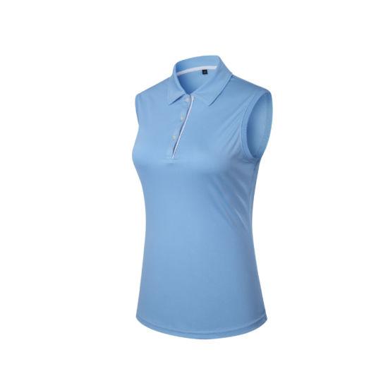 b3000b6e China 2019 Sleeves Ladies Wool Summer Golf T-Shirts - China T Shirt ...