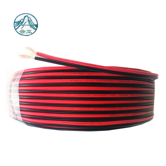 UL Certificate Rubber Parallel Wire 2 Pin 14AWG Power Cable Wire