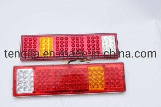 2 YEAR WARRANTY LED Red Trailer Rear Marker Lights Dual Voltage 12v 24v