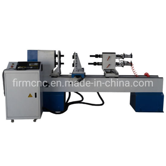 China Woodworking Turning Machine 1530 CNC Wood Lathe for Staircase, Baseball Bat