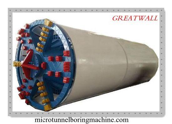 Npd1000 Slurry Balance Microtunneling Boring Machine Pipe Jacking Machine