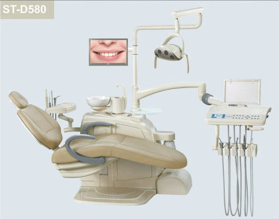 Dental Supply Medical Equipment Fatigue-Free Dental Unit (Model St-D580) pictures & photos