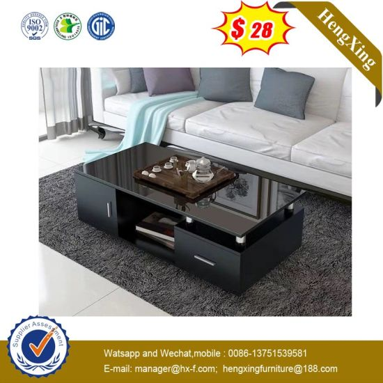 Storage Table Wood Modern TV Stand Living Room Furniture