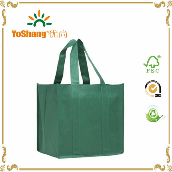 Custom Logo Print Standard Size Non Woven Bag pictures & photos