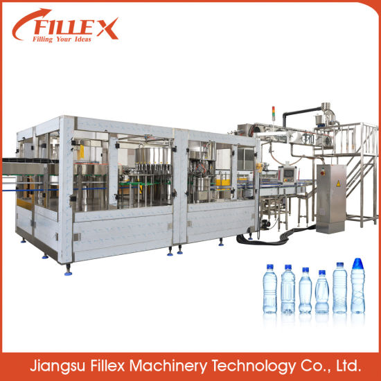 High Efficiency Rinsing Filling Capping 3 in 1 Drink Pure Water Filling Machine