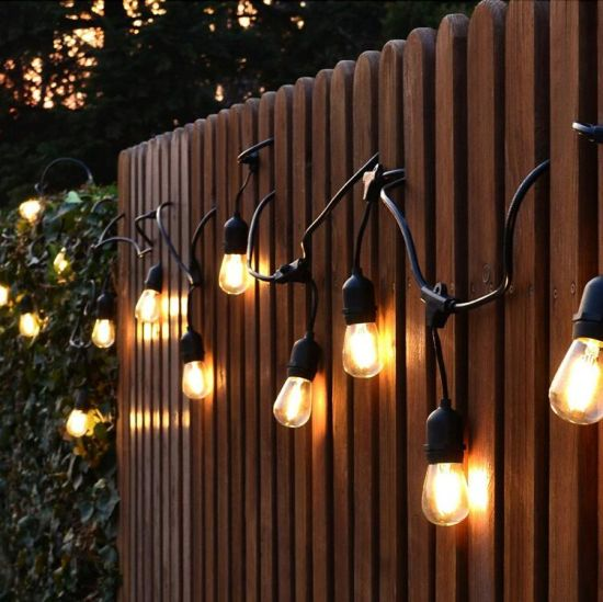 China ip65 commerical heavy duty s14 led bulb string outdoor lights ip65 commerical heavy duty s14 led bulb string outdoor lights waterproof filament bulb string with saa ce certification audiocablefo
