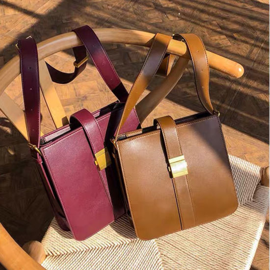 Hot Sale Women Lady Female Girlfriend Mom Wife Gift Travel Working Office Commute Fashion PU Leather Shoulder Crossbody Bag