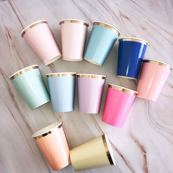 Double Wall Disposable Custom Printed PU Paper Cup
