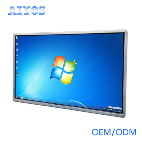 China 55 Inch Wall Mount Window 7 Multi Touch Screen LCD Advertising