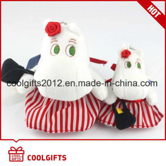 Cute Design Soft Stuffed Kids Plush Toy with Cartoon Characters