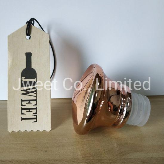 Paint Colors Liquor Alcohol Glass Caps for Glass Bottle