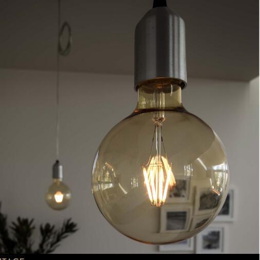 LED Golden Light Bulb Globe G95 4W E27 B22 Dimmable LED Lamp